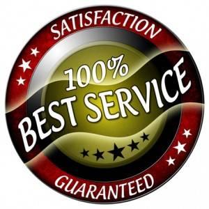 Your satisfaction is guaranteed