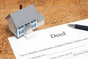 Title transfer deed
