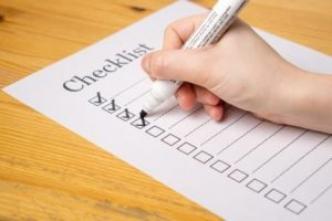 Probate Sale Checklist
