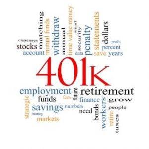 401k, stock, bonds, retirement funds