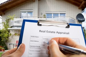 Real estate appraisal for California Partition